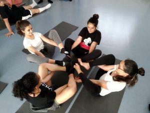 Aula de Yoga para Jovens dos 13 aos 16 anos