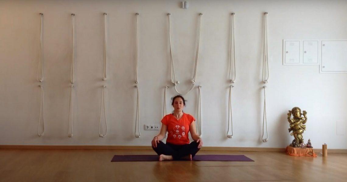 Esta aula de Yoga é dinâmica e traz muita energia e boa disposição! No fim terão um momento de meditação com o tema: Sentimentos